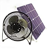 solar fan 10w 6 inch Fan Powered Ventilation Caravan Camping Home...
