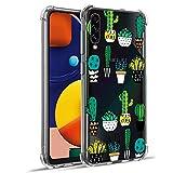 WIWJ Funda para Samsung Galaxy A50, transparente, de TPU suave, de silicona para Samsung Galaxy A50...