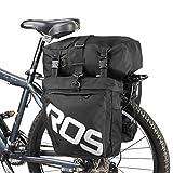 ROSWHEEL(ロスホイール) 3 in 1 トリプル パニエ バッグ [パニエ&ショルダー]【正規品】 ブラック 14892Bk