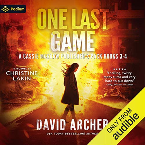 One Last Game: A Cassie McGraw Publisher's Pack Titelbild