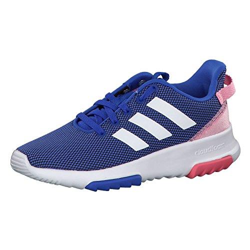 Adidas Cf Racer Tr K, Zapatillas de deporte Unisex niños, Azul (Azalre / Ftwbla / Rossua 000), 31.5 EU