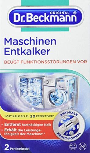 Dr. Beckmann Maschinen Entkalker | 3er Pack | gegen hartnäckigen Kalk und beugt Funktionsstörungen vor