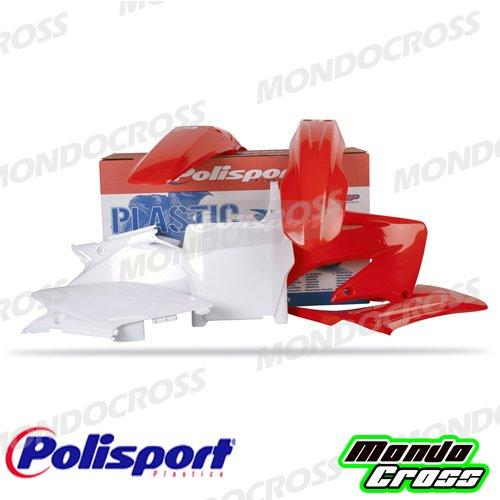mondocross Kit plastiche Cross MX Polisport Rojo Blanco Honda CR 12504–07Cr 25004–07