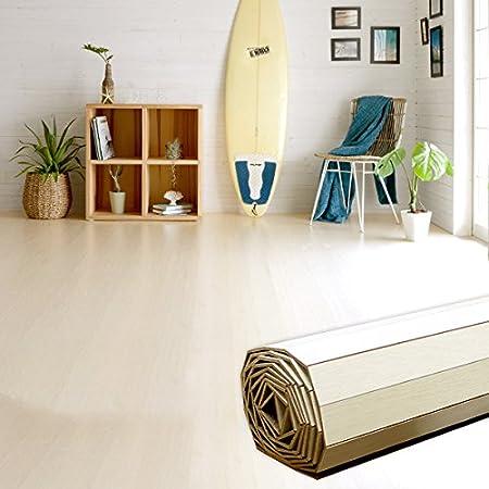 ウッドカーペット [アイボリー] 6畳用 江戸間6畳用 260x350cm GA-60シリーズ 低ホルマリン フローリングカーペット 床材 3帖 [並行輸入品]