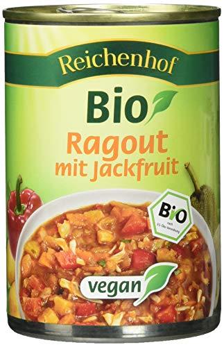 Reichenhof Bio Ragout mit Jackfruit vegan, 6er Pack (6 x 400 g)