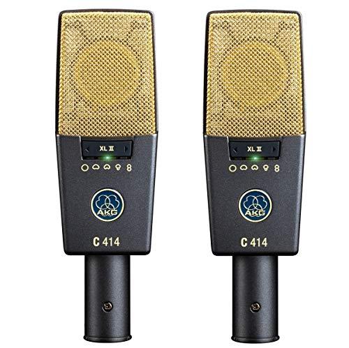 AKG C414-XLII Stereo Set 2 Microfoni a condensatore da studio largo