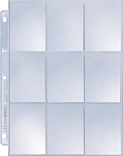 Ultra Pro 9-Pocket Silver Series Page Protector for Standard Size Cards (25-Count)