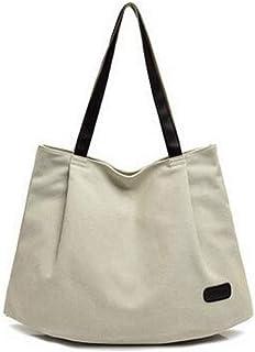 LHKFNU Fashionable women canvas shoulder bag bulk tide art leisure handbags