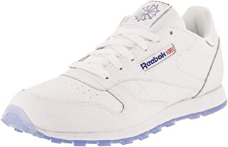 Reebok Kid's Classic Leather Ice Boys Fashion Sneakers White Royal/Ice