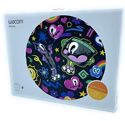WACOM ペンタブレット(ブラック)Wacom Intuos Medium ワイヤレス CTL-6100WL K0