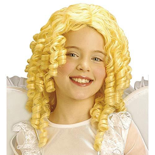 Widmann - pruik engel met krullen voor kinderen