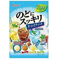 春日井製菓 のどにスッキリドリンクアソート 110g×6袋