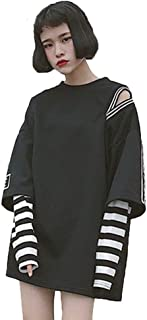 Womens Sweatshirts, Stripe Long Sleeve Fashion Casual Cute Sweatshirts Pullover