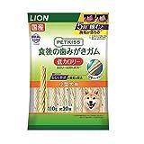 ライオン (LION) ペットキッス (PETKISS) 犬用おやつ 食後の歯みがきガム 低カロリー 小型犬用