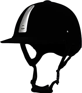 RONSHIN Casque /équestre unisexe Noir Casque d/équitation respirant Harnais d/équitation
