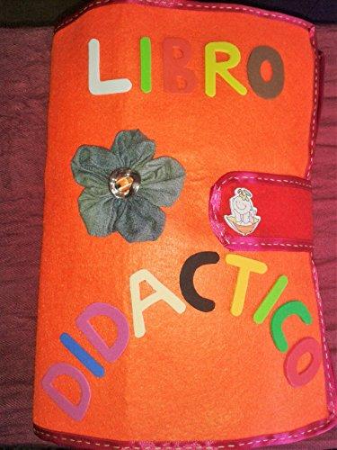 Libro didáctico - Libro sensorial- Libro de actividades- Libro educativo- Quiet book (Version personalizable: elige las actividades que quieras)