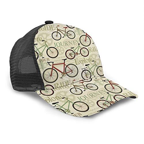 Gorra de béisbol Unisex, Estilo Vintage, Estilo Retro, para Ciclismo, Viajes, para...