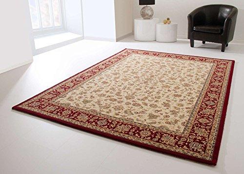 Orientteppich Medina Saruk in Beige, GUT Siegel Zertifiziert, Größe: 170x230 cm