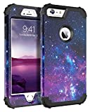 "BENTOBEN iPhone 6 Plus Case, iPhone 6S Plus Case Silicone, iPhone 6S+ Plus Case Nebula, Hybrid 3 in 1 Heavy Duty Hard PC Bumper Shockproof Protective Case for iPhone 6+ Plus/6S Plus 5.5"" - Nebula"