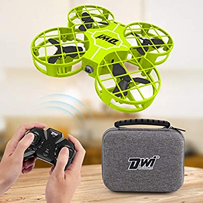 Dwi Dowellin Mini Drone for Kids Crash Proof One Key Take Off Landing Spin Flips RC Small Drones for Beginners Boys and Girls Adults Nano Quadcopter Flying Toys, Green