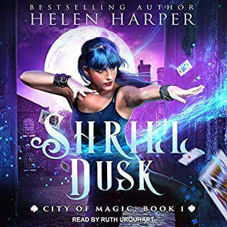 Shrill Dusk     City of Magic Series, Book 1              By:                                                                                                                                 Helen Harper                               Narrated by:                                                                                                                                 Ruth Urquhart                      Length: 7 hrs and 18 mins     10 ratings     Overall 4.6