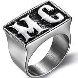 Size 7-15 Stainless Steel Motorcycle Biker MC Ring (13)