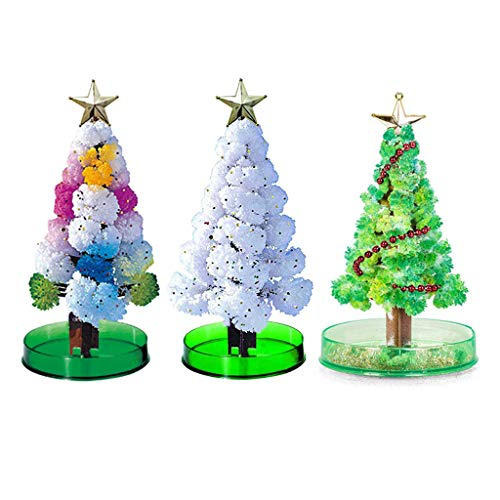 Growing Christmas Tree, DIY Magic Growing Tree, Your Own Fun Xmas Gift Toy (3 Colors)