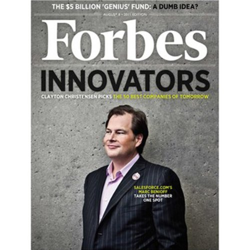 Forbes, July 25, 2011 audiobook cover art