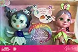 Barbie 2006 Magic of the Rainbow 2 Pack 6 Inch Doll - Blue and Pink Tumbies with a Color Change Makeup Pencil