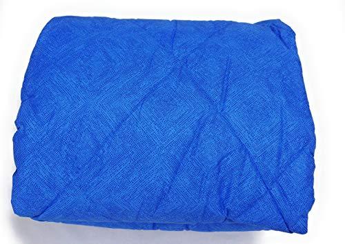 Bassetti Trapunta, Piumone Invernale Matrimoniale 260x260 cm, Dis. DELF, col. Azzurro, Imbottitura 300gr/mq in 100% Fibra anallergica di Poliestere, Tessuto esterno100% Cotone, Made in Italy