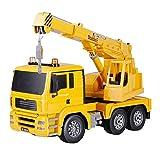 JYXMY Grande gru del camion Veicolo for costruzioni 1:20 ABS Truck 2.4GHz Vehicle Engineering Suono e Luce modulo di simulazione a distanza giocattolo gru giocattolo for bambini Children Series Contro