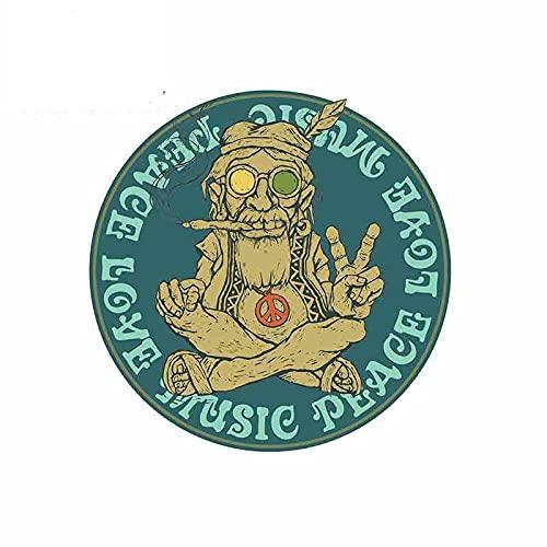 A/X 13 cm 12,8 cm para la Paz Amor música Coche Pegatina Vinilo refrigerador RV Van Fino