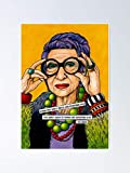 AZSTEEL Iris Apfel Poster Poster 11.7 * 16.5