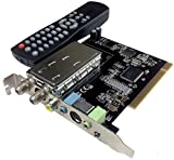AllAboutAdapters Universal TV FM Tuner Card + DVR Video Capture Card NTSC PAL B/G D/K M/N PAL-I
