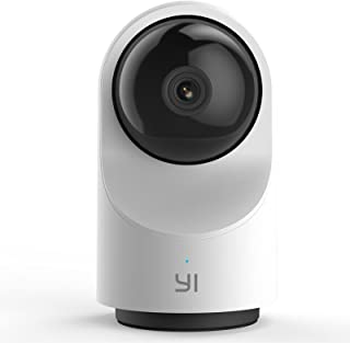 YI Smart Home Dome Security CCTV Camera X, AI-Powered 1080p WiFi Surveillance System with 24/7 Emergency Response, Human D...