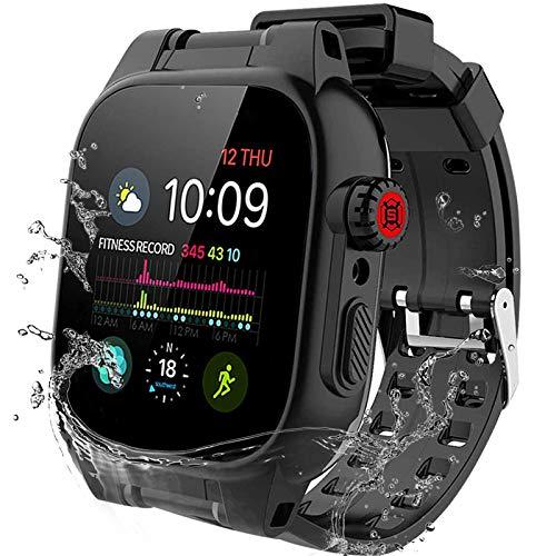 44mm Apple Watch Series 6 Series 5 Series 4/SE Waterproof Case, Built-in Screen Protector, Apple Watch Shockproof and Dustproof Case for Series 6/5/4/SE