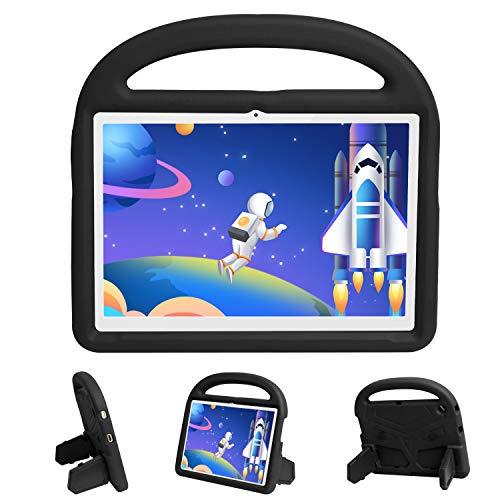 EVA Kids Case para Huawei Mediapad T3 10 9.6 pulgadas, cubierta de protección completa manija cubierta cubierta de la tableta soporte cubierta [ligera] [a prueba de golpes]