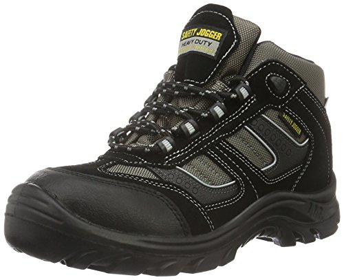 Safety Jogger CLIMBER, Unisex - Erwachsene Arbeits & Sicherheitsschuhe S3, schwarz, (blk/blk/dgr 117), EU 43 ⭐