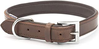 Ancol Vintage Leather Padded Collar 59-68cm Size 9