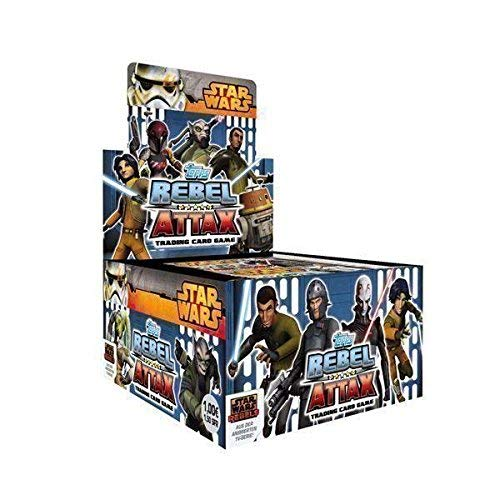 Topps Star Wars Rebel Attax Serie 1 - Booster Display (50x5 Karten)