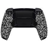 eXtremeRate RISE Remap Kit per Playstation 5 Joystick Scheda&Cover Posteriore&Tasti Posteriori per PS5 Controller BDM-010,Back Buttons Attachment per PS5 CFI-ZCT1*-Bianco Antiscivolo