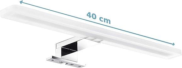Orno Espello Led Spiegellamp voor in de Spiegelkast IP44 Waterproof Zilver 6W 4000K 510lm 40cm