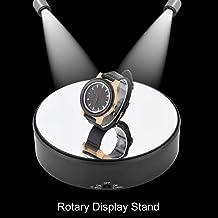 Rotary Display Stand, 360 ° Roterende Display Stand Elektrisch Platform Verstelbare Snelheid Te Toon Klok Sieraden Telefoo...