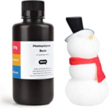 ELEGOO ABS-Like 3D Printer Rapid Resin LCD UV-Curing Resin 405nm Standard Photopolymer Resin for LCD 3D Printing 500Gram White