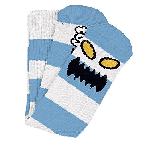 Toy Machine Socken Monster Big Stripe Light Blue Einheitsgröße