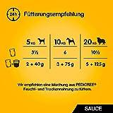 Pedigree Hundefutter in Sauce, 48 Beutel (4 x 12 x 100 g) - 4