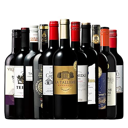 【福袋】世界選りすぐり赤ワイン11本セット