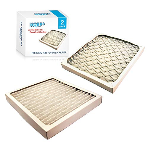HQRP Filter Set 2-Pack compatible with Hamilton Beach 04712 True Air Allergen Reducing Filter Replacement
