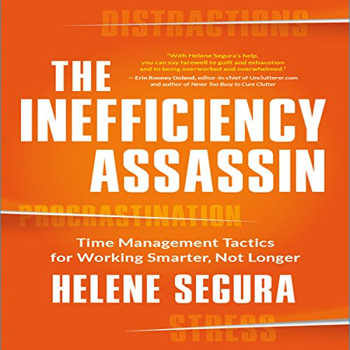 The Inefficiency Assassin audiobook cover art