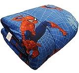 Trapunta Piumone Invernale Disney - Marvel originale Letto Singolo 1 Una Piazza 170x260 cm Bambino Bambina (Marvel SpiderMan)